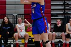 CIAC Girls Basketball; Wolcott vs. St. Paul - Photo # 094