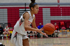 CIAC Girls Basketball; Wolcott vs. St. Paul - Photo # 105