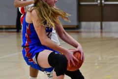 CIAC Girls Basketball; Wolcott vs. St. Paul - Photo # 107