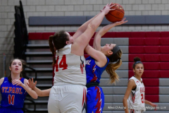 CIAC Girls Basketball; Wolcott vs. St. Paul - Photo # 114