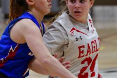 CIAC Girls Basketball; Wolcott vs. St. Paul - Photo # 119