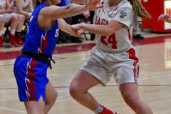CIAC Girls Basketball; Wolcott vs. St. Paul - Photo # 120