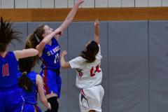 CIAC Girls Basketball; Wolcott vs. St. Paul - Photo # 122