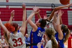 CIAC Girls Basketball; Wolcott vs. St. Paul - Photo # 128