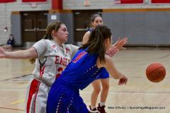 CIAC Girls Basketball; Wolcott vs. St. Paul - Photo # 129