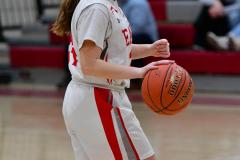 CIAC Girls Basketball; Wolcott vs. St. Paul - Photo # 131
