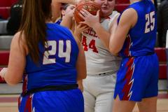 CIAC Girls Basketball; Wolcott vs. St. Paul - Photo # 137
