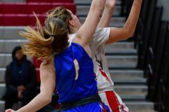 CIAC Girls Basketball; Wolcott vs. St. Paul - Photo # 144