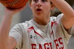 CIAC Girls Basketball; Wolcott vs. St. Paul - Photo # 149