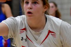 CIAC Girls Basketball; Wolcott vs. St. Paul - Photo # 170