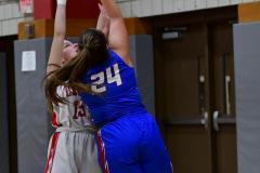 CIAC Girls Basketball; Wolcott vs. St. Paul - Photo # 176