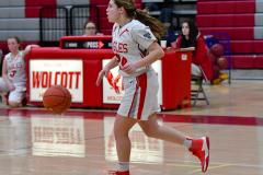 CIAC Girls Basketball; Wolcott vs. St. Paul - Photo # 180
