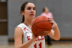 Gallery CIAC Girls Basketball; Wolcott vs. Holy Cross - Photo # 020