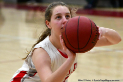 Gallery CIAC Girls Basketball; Wolcott vs. Holy Cross - Photo # 055