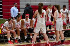 Gallery CIAC Girls Basketball; Wolcott vs. Holy Cross - Photo # 064