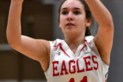 Gallery CIAC Girls Basketball; Wolcott vs. Holy Cross - Photo # 079