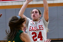 Gallery CIAC Girls Basketball; Wolcott vs. Holy Cross - Photo # 098
