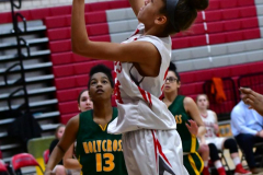 Gallery CIAC Girls Basketball; Wolcott vs. Holy Cross - Photo # 102