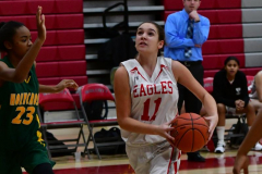 Gallery CIAC Girls Basketball; Wolcott vs. Holy Cross - Photo # 144