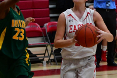Gallery CIAC Girls Basketball; Wolcott vs. Holy Cross - Photo # 145