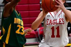 Gallery CIAC Girls Basketball; Wolcott vs. Holy Cross - Photo # 146