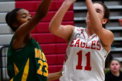 Gallery CIAC Girls Basketball; Wolcott vs. Holy Cross - Photo # 147