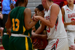 Gallery CIAC Girls Basketball; Wolcott vs. Holy Cross - Photo # 151