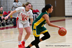 Gallery CIAC Girls Basketball; Wolcott vs. Holy Cross - Photo # 156