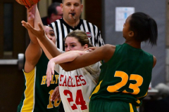 Gallery CIAC Girls Basketball; Wolcott vs. Holy Cross - Photo # 160