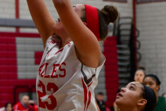 Gallery CIAC Girls Basketball; Wolcott vs. Holy Cross - Photo # 167