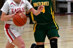 Gallery CIAC Girls Basketball; Wolcott vs. Holy Cross - Photo # 181