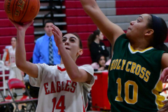Gallery CIAC Girls Basketball; Wolcott vs. Holy Cross - Photo # 222