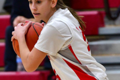 Gallery CIAC Girls Basketball; Wolcott vs. Holy Cross - Photo # 251