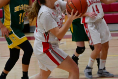 Gallery CIAC Girls Basketball; Wolcott vs. Holy Cross - Photo # 253