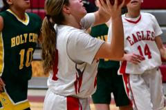 Gallery CIAC Girls Basketball; Wolcott vs. Holy Cross - Photo # 254