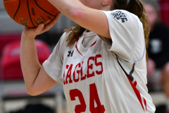 Gallery CIAC Girls Basketball; Wolcott vs. Holy Cross - Photo # 258