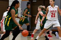 Gallery CIAC Girls Basketball; Wolcott vs. Holy Cross - Photo # 266