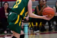 Gallery CIAC Girls Basketball; Wolcott vs. Holy Cross - Photo # 273