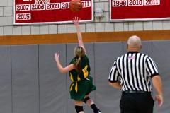 Gallery CIAC Girls Basketball; Wolcott vs. Holy Cross - Photo # 274