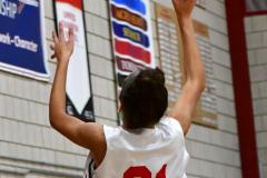 Gallery CIAC Girls Basketball; Wolcott vs. Holy Cross - Photo # 278
