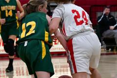 Gallery CIAC Girls Basketball; Wolcott vs. Holy Cross - Photo # 280