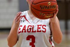 Gallery CIAC Girls Basketball; Wolcott vs. Holy Cross - Photo # 283
