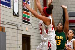 Gallery CIAC Girls Basketball; Wolcott vs. Holy Cross - Photo # 305