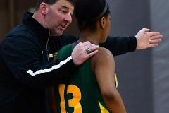 Gallery CIAC Girls Basketball; Wolcott vs. Holy Cross - Photo # 313