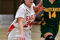 Gallery CIAC Girls Basketball; Wolcott vs. Holy Cross - Photo # 315