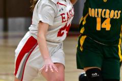Gallery CIAC Girls Basketball; Wolcott vs. Holy Cross - Photo # 316