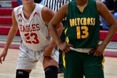 Gallery CIAC Girls Basketball; Wolcott vs. Holy Cross - Photo # 317
