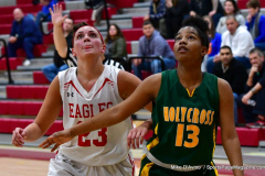 Gallery CIAC Girls Basketball; Wolcott vs. Holy Cross - Photo # 318