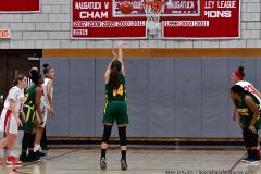 Gallery CIAC Girls Basketball; Wolcott vs. Holy Cross - Photo # 325