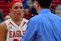 Gallery CIAC Girls Basketball; Wolcott vs. Holy Cross - Photo # 330